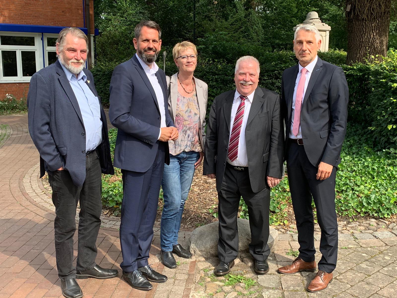 A.Brammer;O.Lies; K.Johannes;H.Giese; T.Schmidtke