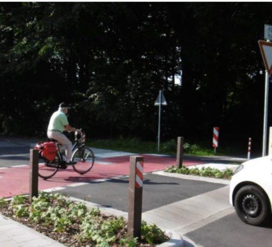 Vorrang für Radverkehr