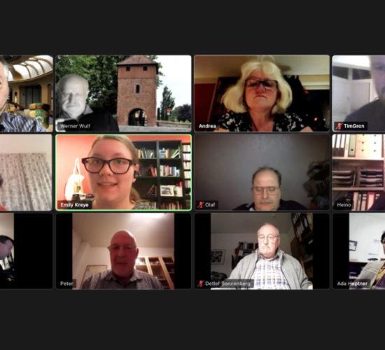 Virtuelle Vorstandssitzung
